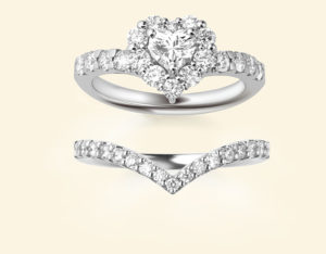 ポンテヴェキオの結婚指輪(レイヤード)