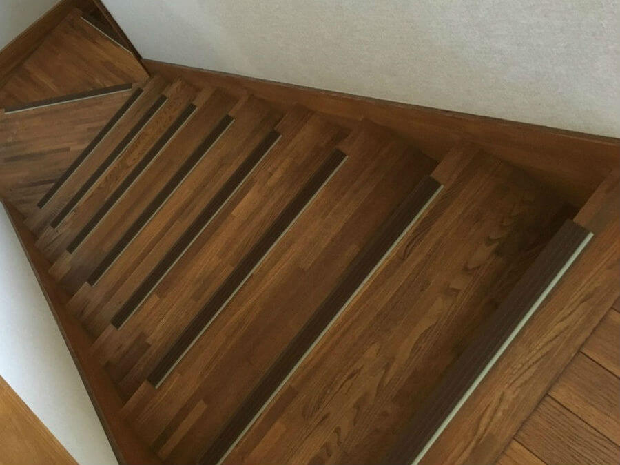 自宅内にある階段
